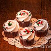 Colorful Cupcakes Art Print