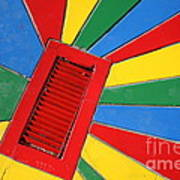 Colorful Drain Print by James Brunker