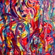 Colorful Expression-6 Art Print