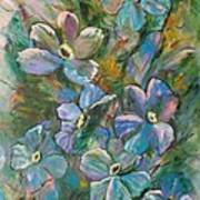 Colorful Floral Art Print
