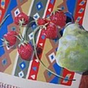 Colorful Fruit Art Print