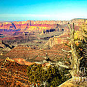 Colorful Grand Canyon Art Print