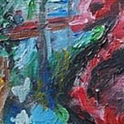 Colorful Impressionism Art Print