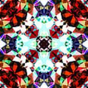 Colorful Kaleidoscope Creation Art Print