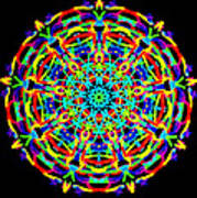 Colorful Kolide  Art Print