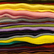 Colorful Layers Art Print