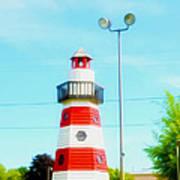 Colorful Lighthouse 2 Art Print