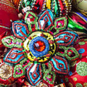 Colorful Ornaments Art Print
