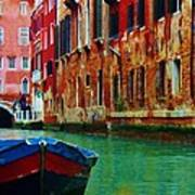 Colorful Relics Of Venice Art Print
