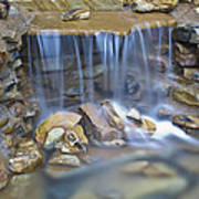 Colorful Rocks And Water Art Print