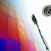 Colorful Seattle Art Print