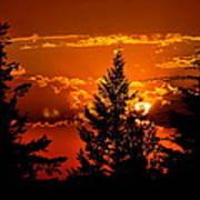 Colorful Sunset IIl Art Print