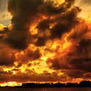 Colorful Sunset Art Print