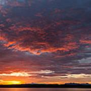 Colorful Sunset, Snaefellsnes Art Print