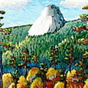 Colorful View Of Idyllwild California Art Print