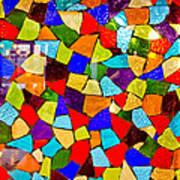 Colorful Visions Art Print by Manu Singh