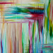 Colorful Waters Art Print