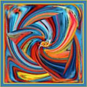 Colorful Waves Art Print