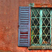 Colorful Window Art Print