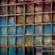 Colorful Windows  Art Print