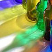 Coloring Bottles Art Print