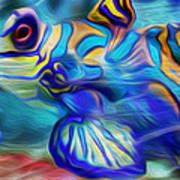Colors Below Art Print