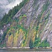 Colors Of Alaska - Misty Fjords Art Print