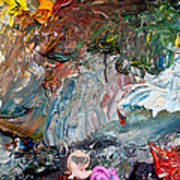 Colors Of Artist's Palette Art Print