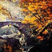 Colors Of Autumn Art Print by Gun Legler