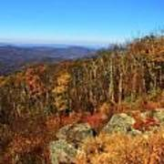 Colors Of Autumn In Shenandoah National Park Art Print