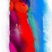 Colors Of Erotic 2 Art Print
