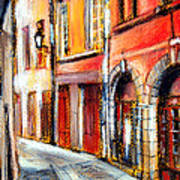 Colors Of Lyon 3 Art Print