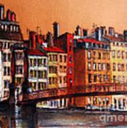 Colors Of Lyon I Art Print