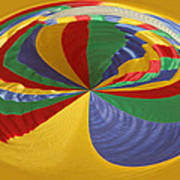 Colors Of Motion Art Print
