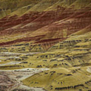 Colors Of Painted Hills Art Print