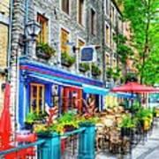 Colors Of Quebec 14 Art Print