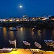 Cala Corb In Es Castell - Minorca - Colors Of The Moonlight   Art Print