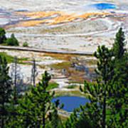 Colors Of Yellowstone Art Print