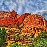 Colors Of Zion Art Print