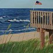 Colors On The Breeze Art Print