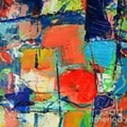 Colorscape Art Print by Ana Maria Edulescu