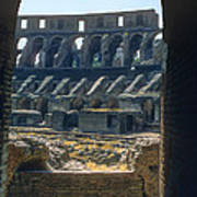 Colosseum Arch Art Print