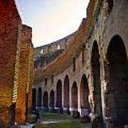 Colosseum Interior Art Print