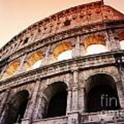 Colosseum Italy Art Print