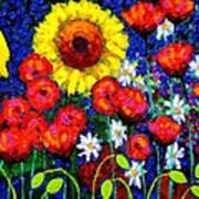 Colour Cluster Art Print