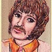 Coloured Pencil Portrait Art Print