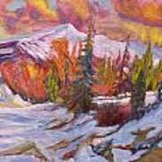 Coloured Winter Art Print