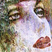 Coloured Woman Art Print