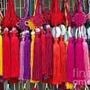 Colourful Souvenirs In China Art Print