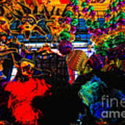 Colours De Nola 2 Art Print